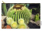 Blooming Cactus Two Carry-all Pouch