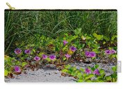 Blooming Cross Vines Along The Beach Carry-all Pouch