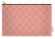 Blooming Dahlia Quatrefoil Carry-all Pouch