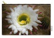 Blooming Hedgehog Cactus Carry-all Pouch