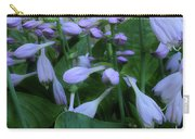 Blooming Hosta Carry-all Pouch
