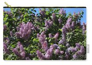 Blooming Lilacs Carry-all Pouch
