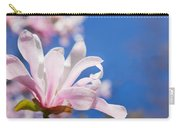 Blooming Magnolia Flower Carry-all Pouch