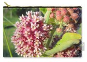 Blooming Milkweed Flowers Carry-all Pouch