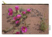 Blooming Prickley Pear Carry-all Pouch