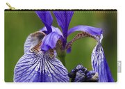 Blooming Purple Iris Carry-all Pouch