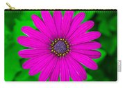 Blooming Purple Carry-all Pouch