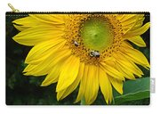 Blooming Sunflower Closeup Carry-all Pouch