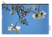 Blooming Trees Art Print White Magnolia Flowers Baslee Troutman Carry-all Pouch