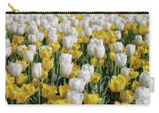 Blooming Tulips As Far As The Eye Can See Carry-all Pouch