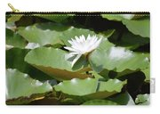 Blooming Waterlily  Carry-all Pouch