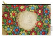 Blooming Wreath Carry-all Pouch