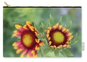 Blooms Of Color Carry-all Pouch