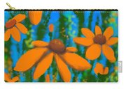 Blooms Of Orange Carry-all Pouch