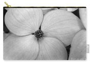 Blossom In Black And White Carry-all Pouch