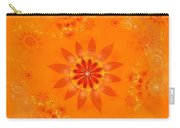 Blossom In Orange Carry-all Pouch