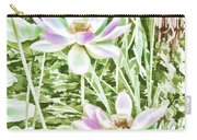 Blossom Pink Lotus Flower Carry-all Pouch