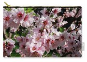 Blossoming Almond Branch Carry-all Pouch