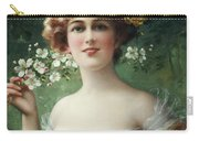 Blossoming Beauty Carry-all Pouch by Emile Vernon