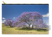 Blossoming Jacaranda Carry-all Pouch