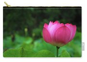 Blossoming Lotus Flower Closeuop Carry-all Pouch
