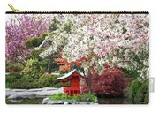 Blossoms Abound In The Japanese Garden Carry-all Pouch