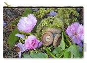 Blossoms And Acorn Carry-all Pouch