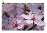 Blossoms Art Prints Pink Spring Tree Blossoms Canvas Baslee Troutman Carry-all Pouch