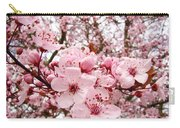 Blossoms Art Spring Pink Tree Blossom Floral Baslee Troutman Carry-all Pouch