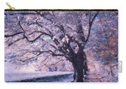 Blossoms In Winter Carry-all Pouch
