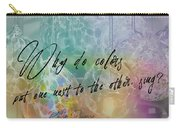 Blown Glass Quote Carry-all Pouch