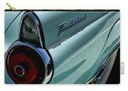 Blue 1955 T-bird Carry-all Pouch by Douglas Pittman