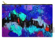 Blue Abstract 55698 Carry-all Pouch