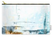 Blue Abstract 12m1 Carry-all Pouch