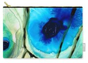 Blue And Green Art - Pools - Sharon Cummings Carry-all Pouch
