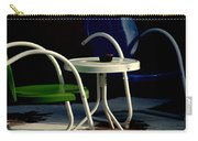 Blue And Green Carry-all Pouch by Susanne Van Hulst