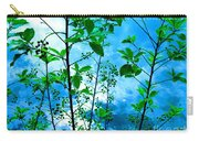 Nature's Gifts Of Blue And Green Carry-all Pouch