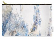 Blue And White Art - Ice Castles - Sharon Cummings Carry-all Pouch