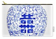 Blue And White Ginger Jar Chinoiserie 8 Carry-all Pouch