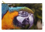 Blue-and-yellow Macaw Carry-all Pouch