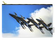 Blue Angel Fly By Carry-all Pouch