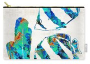 Blue Angels Fish Art By Sharon Cummings Carry-all Pouch