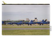 Blue Angels Flight Line Carry-all Pouch