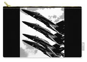 Blue Angels Quad Bw Carry-all Pouch