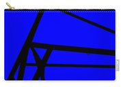 Blue Angle Abstract Carry-all Pouch