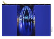 Blue Archways Of London Carry-all Pouch
