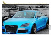 Blue Audi Carry-all Pouch