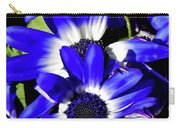 Blue Beauties Carry-all Pouch