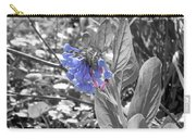 Blue Bell Flower Carry-all Pouch
