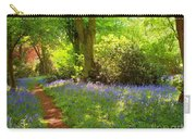 Blue Bells  Flower Carry-all Pouch